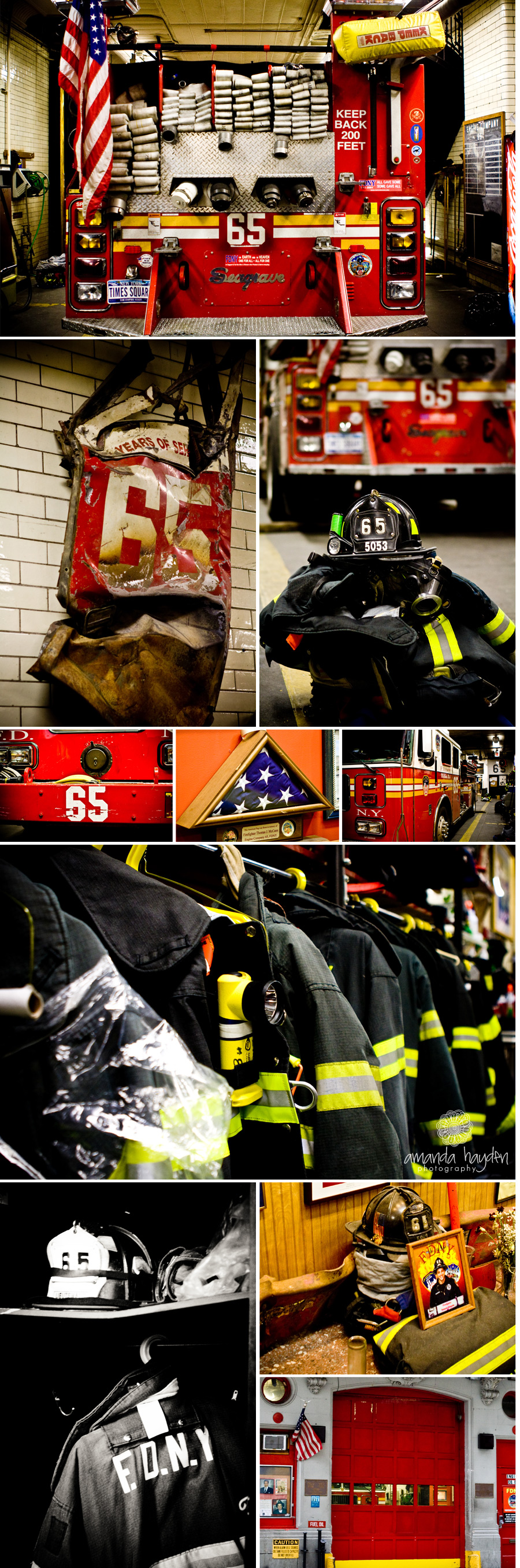 Remember 9/11 NYC Fire House 65