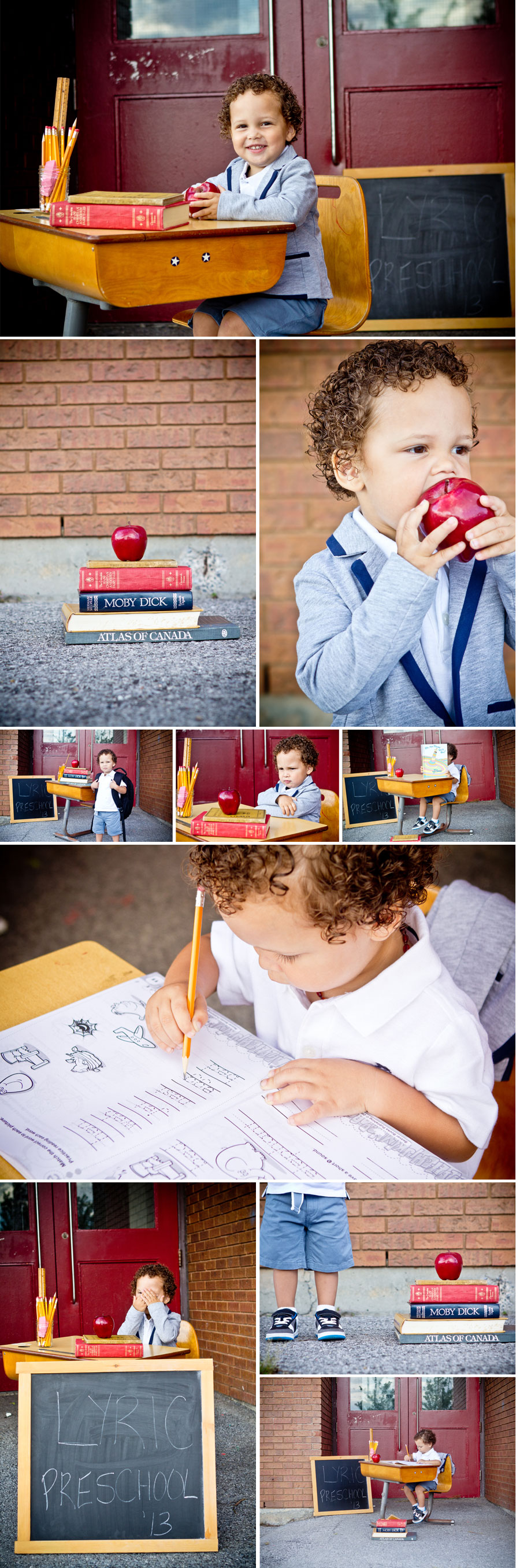 Back to School Mini Session - Ottawa Child Photographer